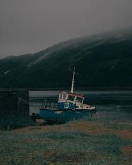 Cold weather (idzzzed1) Tags: north landscape teriberka териберка mountain range dawn field storm fog cold morning arctic ocean sea dramatic cloud