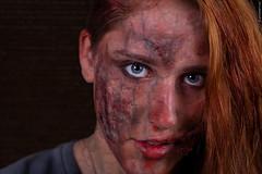 Burned (guidokpunkt) Tags: makeup beautyshooting scars sfxart inferno rawexchange beauty halloween shooting haare guidokpunkt wound halloweenbeauty sfxmakeup creepy blut scarymakeup model creepymakeup scary openskin nastyfreak auge demon schminke halloweenmakeup feuer cut halloweenshooting