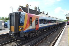 South Western Railway Desiro 444020 (Will Swain) Tags: wareham 13th may 2018 train trains rail railway railways transport travel uk britain vehicle vehicles england english swr class desiro south western 444020 444 020 williamsdigitalcamerapics101