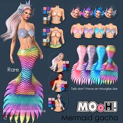 MOoH! Mermaid gacha (Dalriada Delwood (MOoH!)) Tags: mooh mermaid sea gacha gatcha life sl