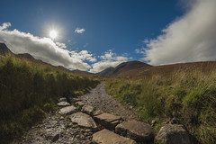 Beautiful Ireland (To see a World in a Grain of Sand And a Heaven in ) Tags: carrauntoohil hagsglen killarney countykerry ireland landscapephotography nikond810 samyang12mmf28 fisheyelens touristdestination climbing rural