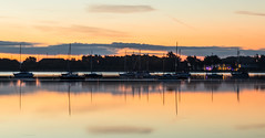 Masts-A-Full on Reflections (THE NUTTY PHOTOGRAPHER) Tags: sunrise lowsunlight langstone hampshire