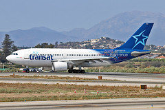 C-GLAT Airbus A.310 308 Air Transat AGP 25-09-18 (PlanecrazyUK) Tags: lemg malaga–costadelsolairport malaga costadelsol cglat airbusa310308 airtransat agp 250918