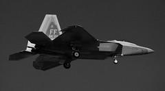 Stealth.... & eFFiciency (crusader752) Tags: usaf usairforce lockheed martin f22a raptor 94thfs ff raflakenheath stealth 104194ff