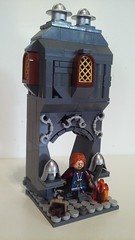 The Fellowship of the Ring: Boromir (LegoHobbitFan) Tags: lego lotr lordoftherings hobbit middleearth osgiliath boromir vignette