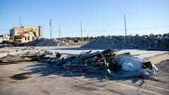 Debris (Lester Public Library) Tags: tworivers tworiverswisconsin wisconsin demolition construction debris equipment badgerlandinc downtown lesterpubliclibrarytworiverswisconsin readdiscoverconnectenrich