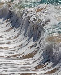 wall of water (bluewavechris) Tags: maui hawaii makena oneloa beach shorebreak ocean water sea swell surf wave foam