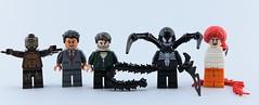 Marvel minifigs #11 : Venom🎬 (Alex THELEGOFAN) Tags: lego legography minifigure minifigures minifig minifigurine minifigs minifigurines venom movie marvel super heroes villain villains eddy brock 2018 fig barf gray