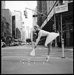 Street golf (jparadise12) Tags: newyorkfashionphotographerjosephparadisoandyuk r street film golf kodak trix hasselblad ballerina professional beauty