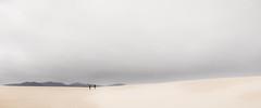 The long walk (Chas56) Tags: ngc scale minimalist landscape canon canon5dmk4 victoria australia wilsonspromontory sand dunes sanddunes sky thebigdrift brilliant