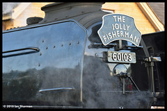 No 60103 Flying Scotsman 29th Sept 2018 Nene Valley Railway (Ian Sharman 1963) Tags: no 60103 flying scotsman 29th sept 2018 nene valley railway class a3 462 station steam engine rail railways train trains loco locomotive heritage line nvr wansford peterborough nv the jolly fisherman