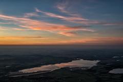 Spiegelung vom Sonnenuntergang im Forggensee vom Säuling (stefangruber82) Tags: alpen alps tirol tyrol sunset red rot orange sonnenuntergang reflection spiegelung