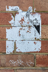 Top right (A Different Perspective) Tags: australia fremantle perth westernaustralia brick flower missing poster text wall worn