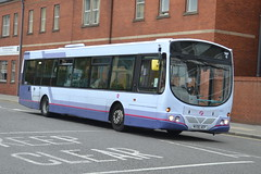 First Volvo B7RLE 69225 MX56AEP - Bury (dwb transport photos) Tags: first volvo wright eclipse bus 69225 mx56aep bury