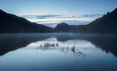Buttermere mist at dawn (Alf Branch) Tags: buttermere landscape lakes lakedistrict lake lakesdistrict leicadg818mmf284 mist dawn sunrise westcumbria water calmwater cumbria clouds cumbrialakedistrict alfbranch refelections reflection olympus omd olympusomdem5mkii panasonic