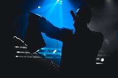 Black Milk @ Le Tamanoir (Hugo StickIT Bryan) Tags: black milk tamanoir paris night concert show music color light dark white emotion sony a7 zeiss rap hiphop