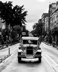 What a beauty (Frederik Trovatten) Tags: car cars retro oldschool fuji fujifilm streetphotography street streetphoto streetphotographer mexico mexicocity bnw blackandwhite blackandwhitephotography public streets monochrome monochromatic