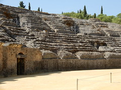 Roman Amphitheatre - Italica (VJ Photos) Tags: hardison spain italica seville gameofthrones