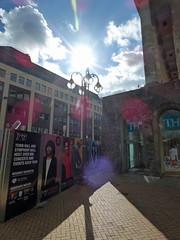 Birmingham Town Hall - Town Hall and Symphony Hall hosts over 800 concerts and events each year (ell brown) Tags: birmingham westmidlands england unitedkingdom greatbritain victoriasquare tree trees townhall birminghamtownhall no1victoriasquare townhallandsymphonyhallhostsover800concertsandeventseachyear sign column columns westmidlandsmetroextension midlandmetroalliance hillst hillstbirmingham