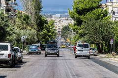 Glyfada (Maciej Dusiciel) Tags: architecture architectural city urban street building greece glyfada athens travel europe world sony alpha trees panorama cityscape skyline
