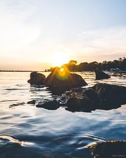 sunset in croatia ☀️