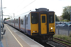 London Overground arrival . (AndrewHA's) Tags: railway station train cheshunt london overground class 317 electric multiple unit 317889 2d24 liverpool street stopping passenger service southbury loop brel york works 317333 wabtec doncaster stansted express