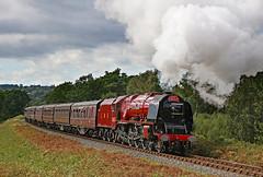 6233 Duchess of Sutherland (gareth46233) Tags: 6233 46233 duchess sutherland lms svr severn valley railway foley park tunnel