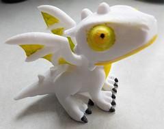 Cute Little Dragon 2 (Dobis Images) Tags: 3dprinting dragon pla filament