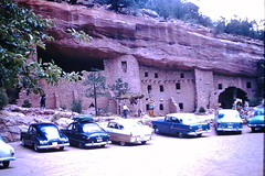 Found Photo - Cliff Dwellings (Mark 2400) Tags: found photo cave dwelling
