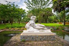 Fashioning a Paradise (dayman1776) Tags: brookgreen gardens south carolina sony a6000 sculpture sculptor statue skulptur escultura sculptures garden beautiful figurative art museum outdoor marble nude myth mythology