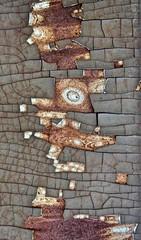 Cubistic Surprise (ebergcanada) Tags: rust metal decay abstract oberfläche texture surface arttrouvé