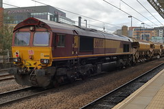 66108 7K10 (Rob390029) Tags: db cargo 66108 class 66 newcastle central station ncl