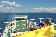 D71_4664A (vkalivoda) Tags: ferryboat ferry boat ploce trpanj trajekt sea sky horizont water deck sigma1835mmf18dchsmart