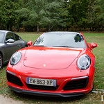 20181007 - Porsche 911 (991-2) Carrera S 420cv - N(2888) - CARS AND COFFEE CENTRE - Chateau de Chenonceau thumbnail