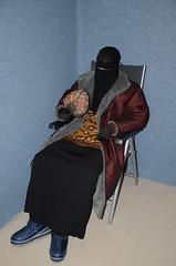 Warrm clothed slave girl (Warm Clothes Fetish) Tags: slave maid hot warm sweat torture boots coat fleece fur anorak apron rainwear winter