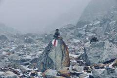 You shall not pass (evakatharina12) Tags: geisspfad pass geispfadpass alps mountains fog mist winter rocks switzerland suisse binntal wallis valais passo della rossa
