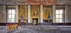 "Tanzsaal ""Blätterteig"" (david_drei) Tags: blätterteig decay abandoned ballsaal graffiti tanzsaal urbex derelictbuildings urbexer lostplace lost"