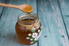 Meda Med (gagarose70) Tags: honey med food bee blu canon flower macro wood