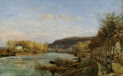 Camille Pissarro - The Seine at Bougival, 1870 at Bridgestone Museum of Art Tokyo Japan (mbell1975) Tags: tokyo tokyoprefecture japan jp camille pissarro the seine bougival 1870 bridgestone museum art museo musée musee muzeum museu musum müze museet finearts gallery gallerie beauxarts beaux galleria painting impression impressionist impressionism french