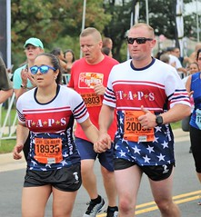2018_TT_ATM_Andrea 40 (TAPSOrg) Tags: taps tragedyassistanceprogramforsurvivors teamtaps armytenmiler washingtondc running marathon 2018 military andreapalermo outdoor cropped singlet candid woman male