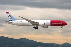 Norwegian Long Haul B787-9 LN-LNI (José M. Deza) Tags: 20181018 b7879 bcn boeing dreamliner elprat lebl lnlni norwegain planespotting spotter aircraft