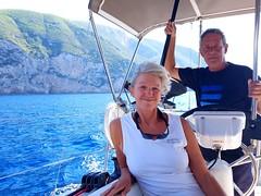 Annie and Dirk (RobW_) Tags: annie schady dirk muller notmine skinari yacht esprit zakynthos greece tuesday 09oct2018 october 2018