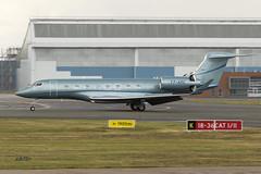 A56A4854@L6 (Logan-26) Tags: gulfstream g650 t7arc cn 6054 private riga international rix evra latvia airport aleksandrs čubikins