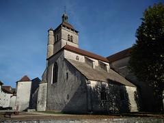 Eglise d'Orgelet après l'abattage des tilleuls (ASPHOR) Tags: église orgelet asphor jura 2018