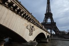 Pont d´lena (Obachi) Tags: france arcdetriomphe flickr eiffeltower paris frankreich eiffelturm
