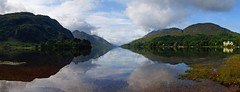 Loch Shiel (WISEBUYS21) Tags: bonnie prince charlie jacobite loch sheil glenfinnan hotel scotland still water reflection glen mike tomkies harry potter the 45 highlands express mountains midge clouds hills blue sky symetrical panorama wisebuys21 boat monument deer faves landscape movie victorian charles edward stuart young pretender chevalier culloden 1745