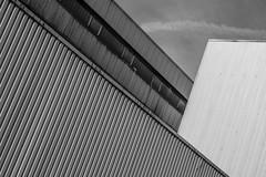 Hypnotic architecture (HeiJoWa) Tags: 7artisans 55mm 14 building gebäude muster pattern blackwhite bw sw monochrome nocolors architecture architektur sony alpha 6000 halle hypnotisch hypnotized hynotisiert hypnosis