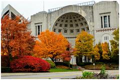 ohio stadium (brown_theo) Tags: ohio stadium columbus buckeye buckeyes football osu campus university state theshoe nrhp rotunda autumn colors historic