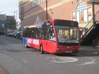 Go North East 8325 (NK11 FXH). Eldon Square Bus Station, Newcastle