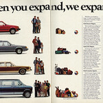 1984 Car Ad, Ford Wagons for Growing Families (2 pages) thumbnail